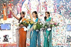 The winners of Femina Miss India 2008