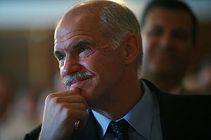 George Papandreou, President of PASOK.