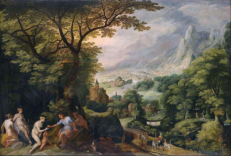 FileGillis Van Coninxloo Landscape With The Judgement