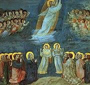Ascensión de Jesús, cuadro de Giotto