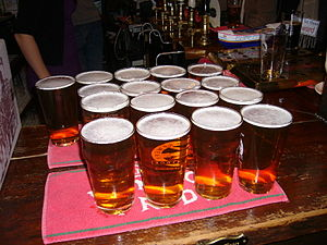 """Pints, ready for the """"off"""". Richard ..."""