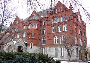 Old Main, Macalester College, 1600 Grand Avenu...