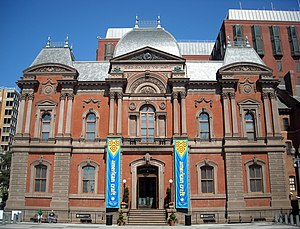 English: The Renwick Gallery, a branch of the ...