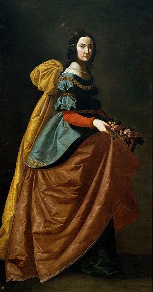 Francisco de Zurbarán, Santa Isabel de Portuga...