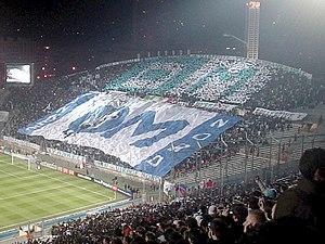 Tribune du Stade Velodrome lors de OM-OL