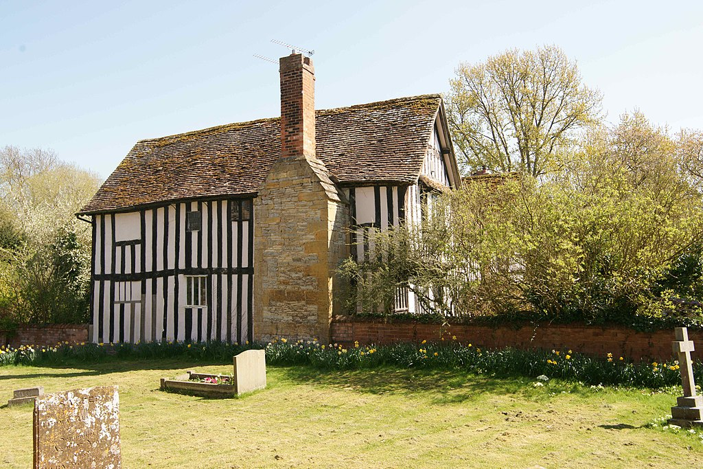 Timber framed rectory