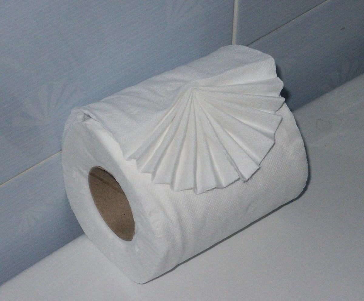 Pliage du papier toilette dans les htels  Wikipdia