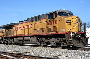 Union Pacific Railroad 6670 GE AC4400CW