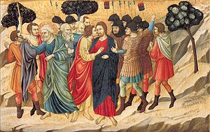 The Betrayal of Christ from the Santa Croce Al...