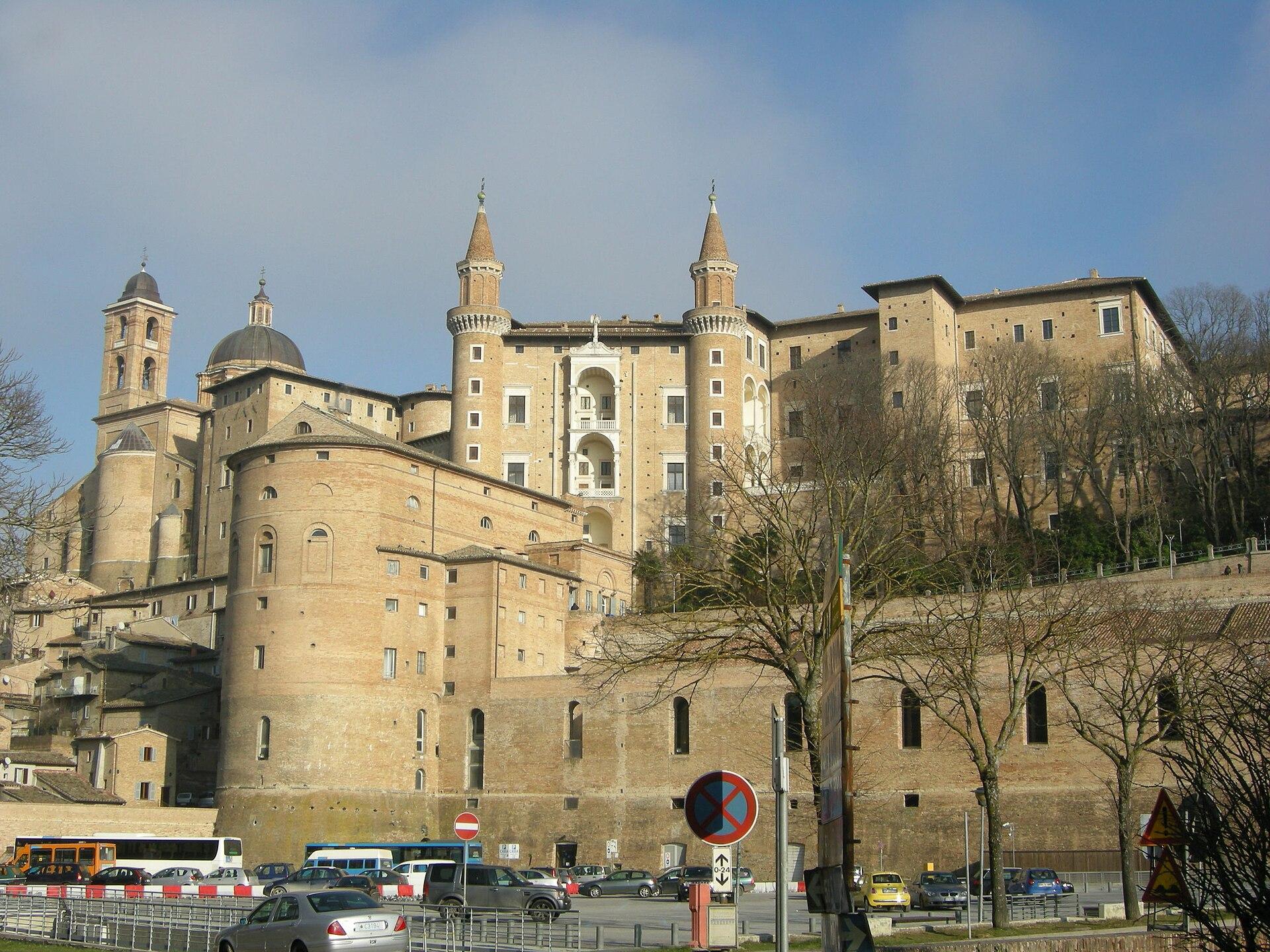 Palazzo Ducale Urbino  Wikipedia