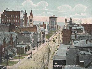 Washington Avenue, Scranton, Pennsylvania, Uni...