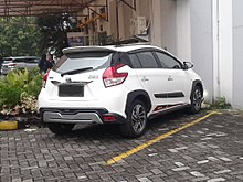 toyota yaris trd heykers harga grand new veloz 2019 xp150 wikipedia 2017 1 5 nsp151r indonesia