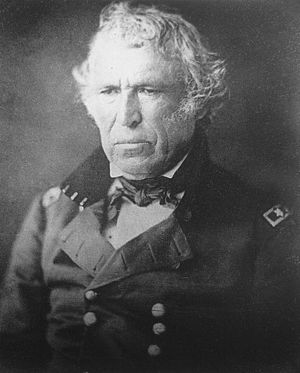General Zachary Taylor in uniform.
