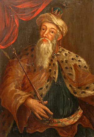 King Asa on a 17th century painting by unknown...