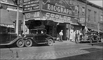 English: Biograph theatre