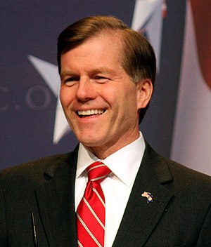 Bob McDonell, Gov. of Virginia at CPAC.
