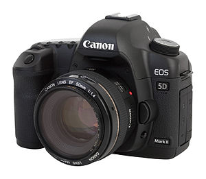 Canon EOS 5D Mark II camera, with Can...