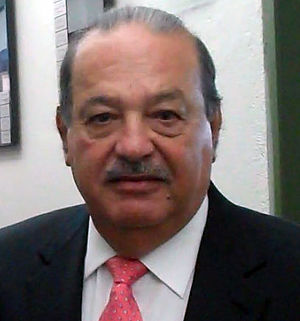 English: Mexican businessman Carlos Slim Helú....