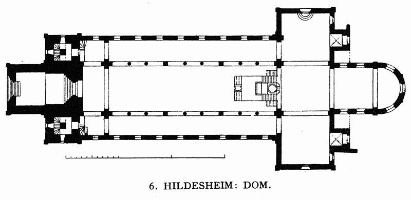 Hildesheim - katedra i św. Godehard