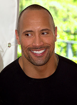 English: Dwayne Johnson at the 2009 Tribeca Fi...
