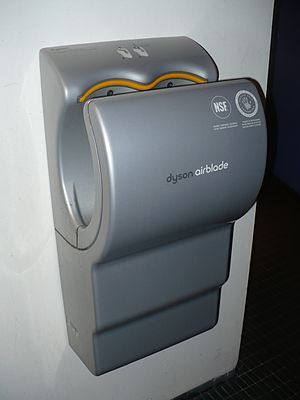 Dyson Airblade installed in the Design Exchang...
