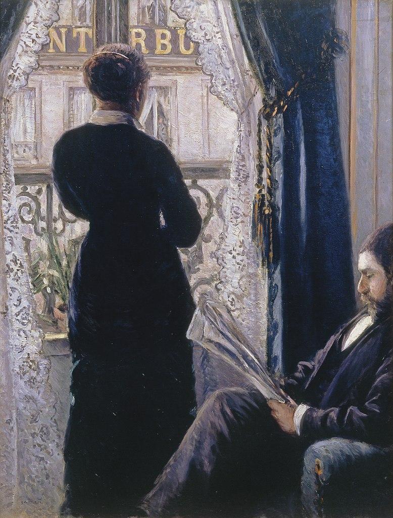 La Femme A La Fenetre : femme, fenetre, File:Gustave, Caillebotte, Intérieur,, Femme, Fenêtre.jpg, Wikimedia, Commons