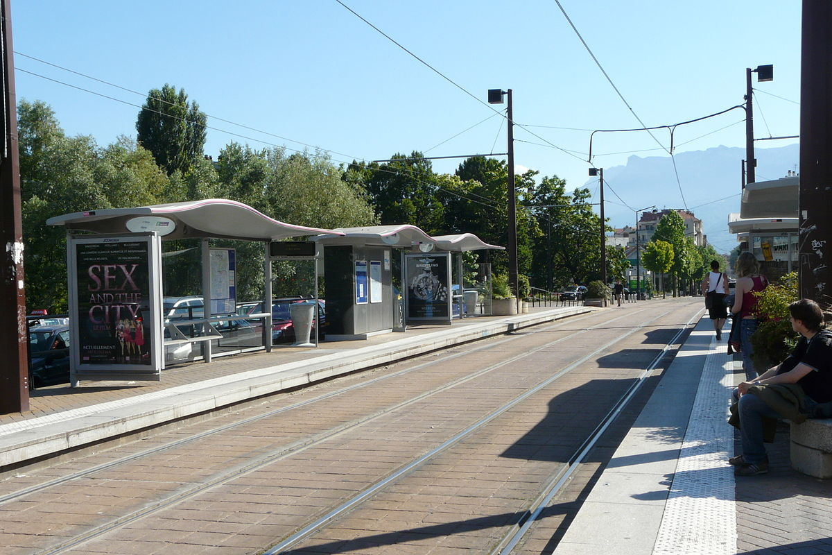 Station de tramway  Wikipdia
