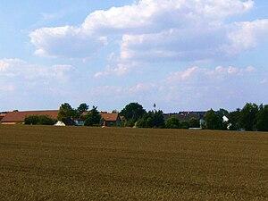 English: Gera Lessen, village view. Deutsch: G...