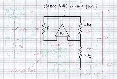 Circuit Idea/Linear Mode of Voltage Inversion NIC
