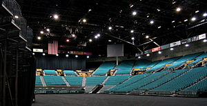 English: MGM Grand Garden Arena Interior - Las...