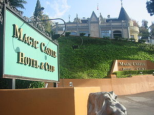 The Magic Castle Hotel and Club in Hollywood, ...