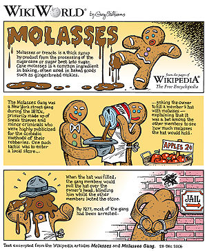 Molasses comic