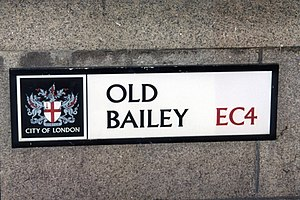 Old Bailey sign