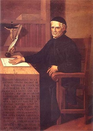 Father António Vieira, by unknown artist of th...
