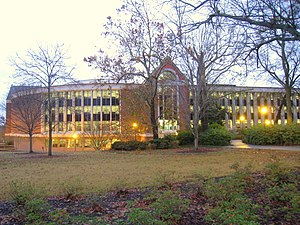 Ralph Brown Draughon Library, Auburn Universit...