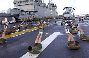 At sea aboard USS Bataan (LHD 5) Sept. 24, 200...