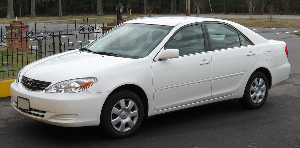 2002 Toyota Camry Diagram
