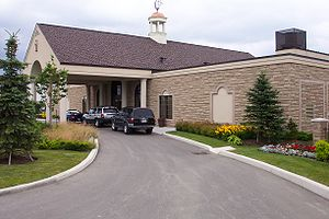 A typical American crematorium.
