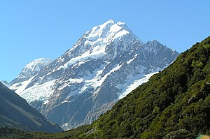 Aoraki/Mount Cook is the tallest mountain in N...