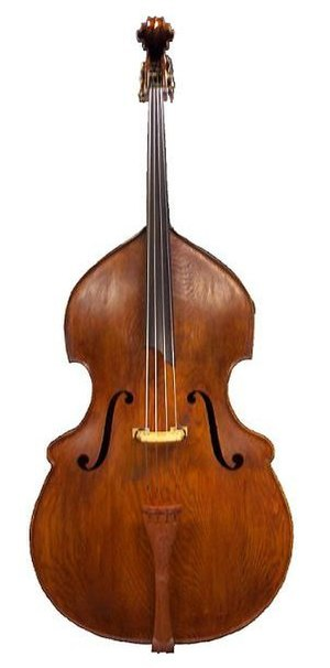 Example of a Busetto-shaped double bass: Copy ...