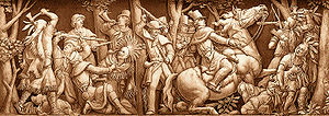 Location : Frieze of the Rotunda of the United...