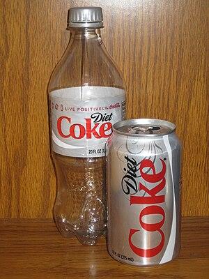 English: Diet Coke