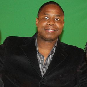 Doug E. Fresh, an American rapper.
