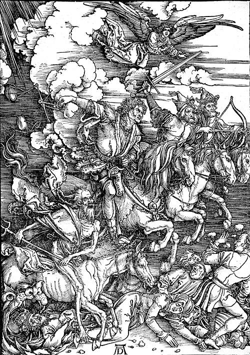 Durer Revelation Four Riders