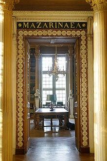 Bibliothque Mazarine  Wikipdia