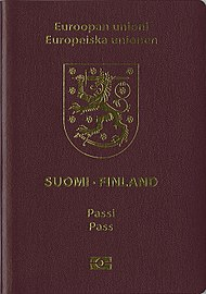 Finnish passport  Wikipedia