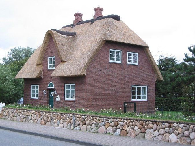 Thatched Roof on Cottage