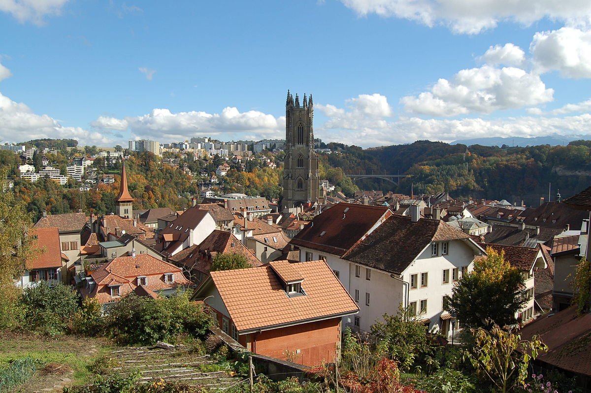Fribourg ville suisse  Wikipdia