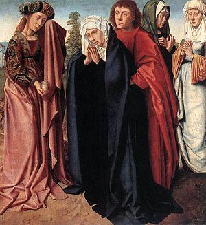 Gerard David - The Holy Women and St John at G...