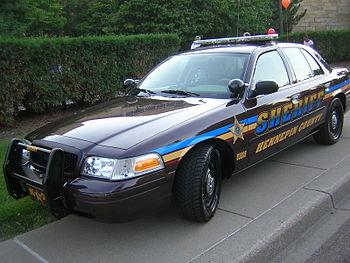 English: Hennepin County Sheriff car